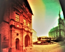 Brzeg. Fasada zamku Piastów Legnicko - Brzeskich.