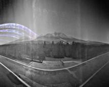 Stara Lesna Observatory. West view to Tatra Mountains. Exposition: 6 months week. THX: Julius Koza.