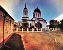 Białystok, cerkiew pw. św. Mikołaja. Półwalec, kodak, 13 miesięcy.