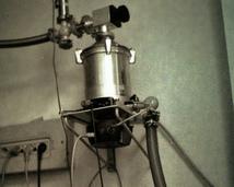 Pompa próżniowa turbomolekularna.