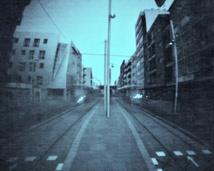 Tram station. La Laguna. Tenerife. 2 weeks.