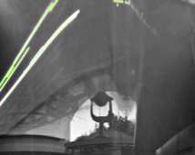 Multi-channel Flare Spectrograph inside the dome. 1 year