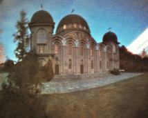 Białystok, cerkiew - Hagia Sofia w miniaturze. Półwalec, kodak, 13 miesięcy.