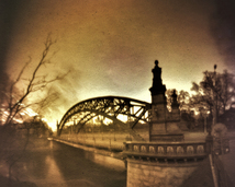 Wrocław. Most Zwierzyniecki. Półwalec, kodak, 3 miesiące.