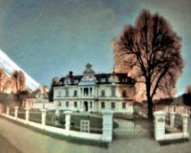 Supraśl, pałac Bucholtza. Półwalec, kodak, 13 miesięcy.
