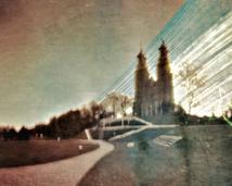 Gniezno. Katedra. Półwalec, kodak, rok.