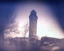 Wrocław. Karłowice. Wieża ciśnień. Walec, foma, 3 miesiące.