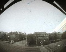 Ulica Marii Skłodowskiej - Curie. Półwalec, agfa, 5 miesięcy.