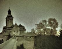 Zamek Czocha, widok na most.