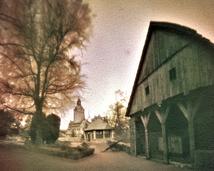Zamek Czocha, widok z murów.