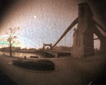 Most Grunwaldzki. Walec, foma, 3 miesiące.