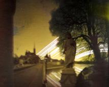 Most Tumski. Półwalec, agfa, półrok.