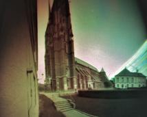 Katedra. Półwalec, agfa, półrok.