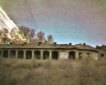 Lubań, ruiny ZNTK.