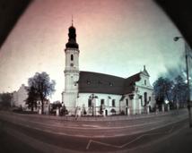 Kościół pw. św. Maurycego. Półwalec, kodak, półrok.
