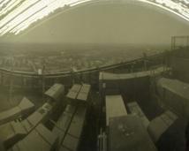 Widok z dachu Skajtałera.
