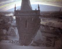 Widok z wieży Katedry.
