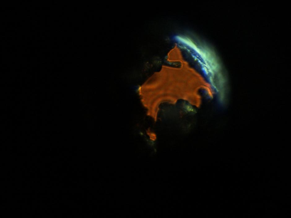 Dziura - wulkan, Powięszenie 150x