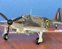 Fulmar Mk I 1:72 fot.2