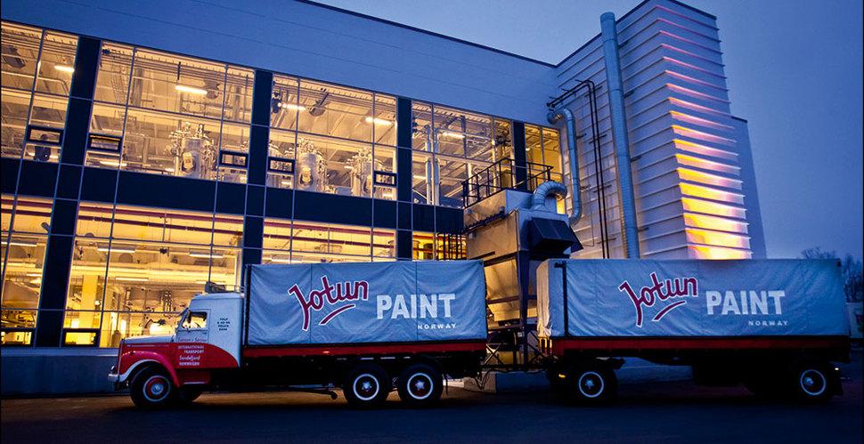 Farba na dach.Farby i lakiery norweskiej firmy JOTUN