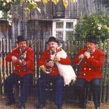 Wielkopolanie grający na dudach