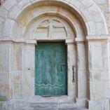 Portal w kościele św. Piotra i Pawła w Nowym Mieście