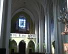 Wnętrze kościoła 2014r.