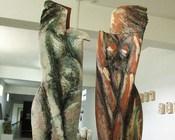 """""""Dwie gracje"""", 'Ceramiczne dialogi2012' - Galeria 36,6 - Uniwersytet Śląski w Cieszynie"""