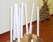 """""""Keramische Skulpturen und Bilder""""2004- Rathaus Winnenden/Niemcy"""