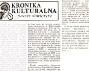 Trybuna Opolska 20-21 X 1990, Danuta Nowicka