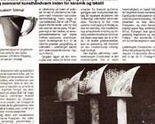 Kunstavisen 9/92 Lisbeth Tolstrup