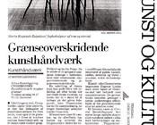 Morgenavisen Jyllands-Posten 17.XI.1992 Birthe Lindberg