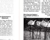 Neue Keramik 12/91 Maria Kupczak-Zajadacz und Mari-Alice Bahra