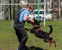 Training with Mr. Szczepanski
