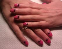 Manicure hybrydowy Moon
