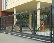 bramy ogrodzeniowe przemysłowe