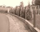 słupy ogrodzeniowe