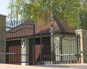 bramy ogrodzeniowe dwuskrzydłowe automatyczne