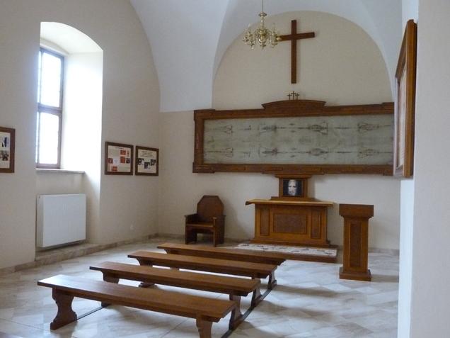 Kaplica Całunu Turyńskiego.