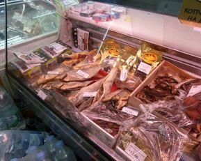 Suszone ryby - popularna przekąska.