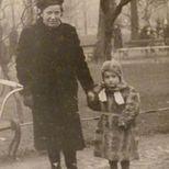 Halina Stopczyk z Saskich z synem Mariuszem