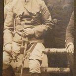 Jerzy Saski  syn Józefa (w głębi) w szkole 1918 r.