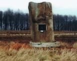 Chodówki. Pomnik pomordowanych Żydów.