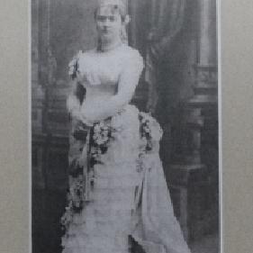Celina  Borzęcka, przyszła żona Józefa Antoniego Juliusza Hallera