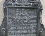 Epitafium Jerzego Rossa.