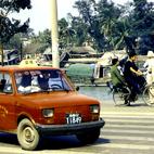 Chiny - taksówka w Shanghaju (1991)