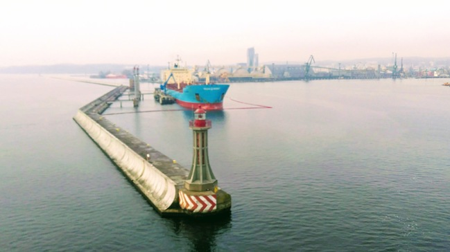 Gdynia - wrota basenu portowego
