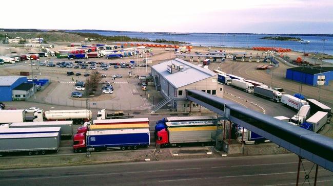 Terminal w Karlskronie