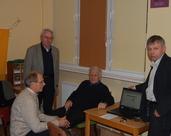 p Bogdan Szyszłowski, ekspert oceniający p. Józef Stawirej, p. Marian Haczyk, p. Mirosław Haze