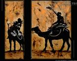 Africa - olej na deskach - kolekcja prywatna